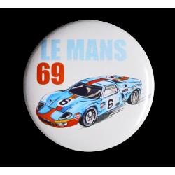 Badge Ford GT40 Le Mans 69