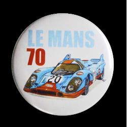 Badge Porsche 917 Le Mans 70