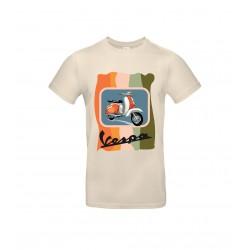 T-shirt Vespa Orange