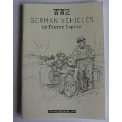 CARNET DE CROQUIS WW2...